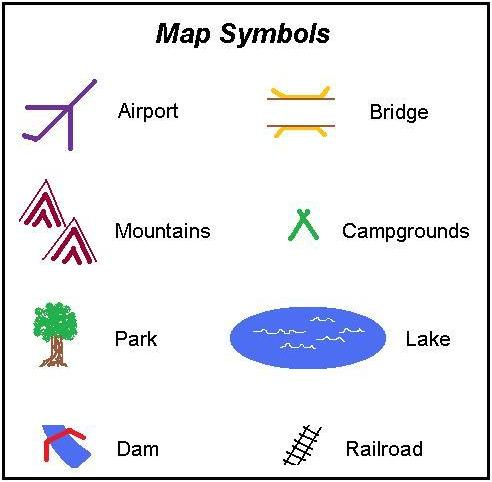 map symbol for lake 2 6 Map Symbols map symbol for lake